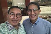 Fadli Zon: happy birthday Bro Sandiaga Uno
