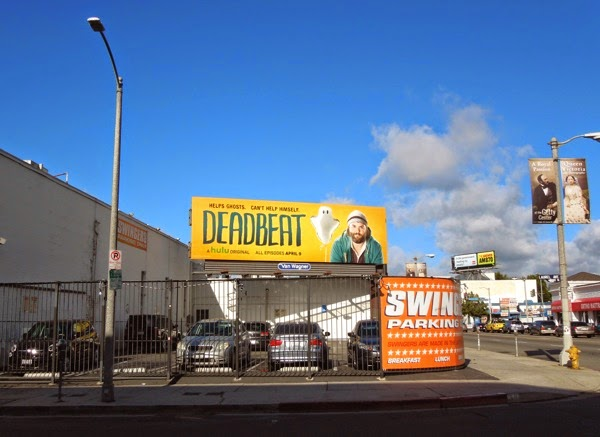 Deadbeat season 1 billboard