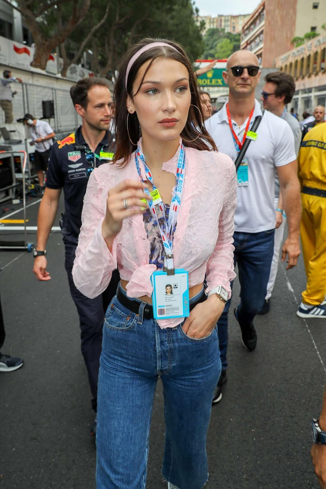 Bella Hadid – F1 Grand Prix in Monaco