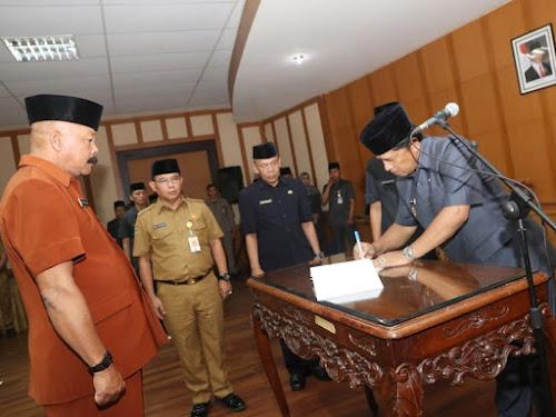 Pejabat baru Pemkab Bandung