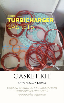 Gasket Kit for Turbocharger, MAN Engine Turbocharger, repair kit for turbocharger