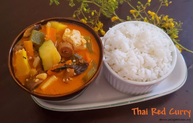 images of Thai Red Curry Recipe with Vegetables / Veggie Thai Red Curry Recipe / Thai Red Curry Recipe