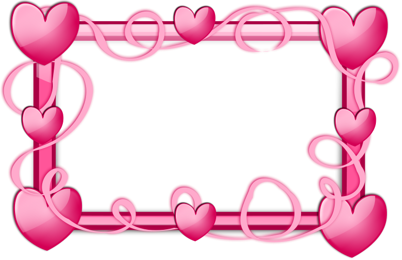 Marco de corazones