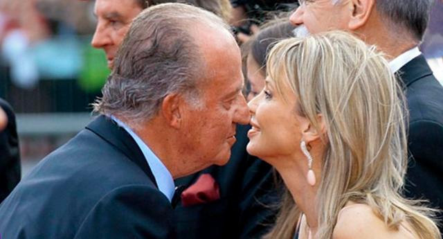 """Corinna, la """"amiga entrañable"""" del rey Juan Carlos de Borbón se fue de España con 30 millones de euros"""