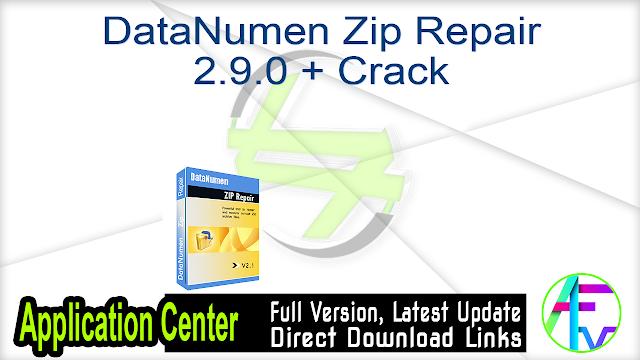 DataNumen Zip Repair 2.9.0 + Crack