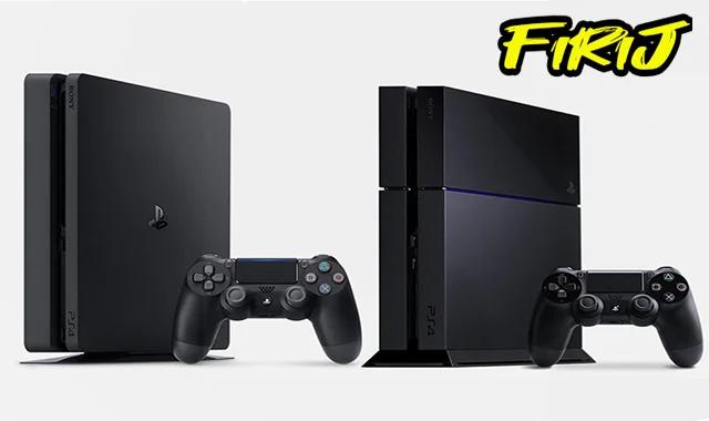Comparaison entre PS4 et PS4 Slim