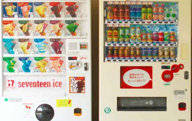 ice cream, machines, Kin, Nature Mirai, Okinawa, vending
