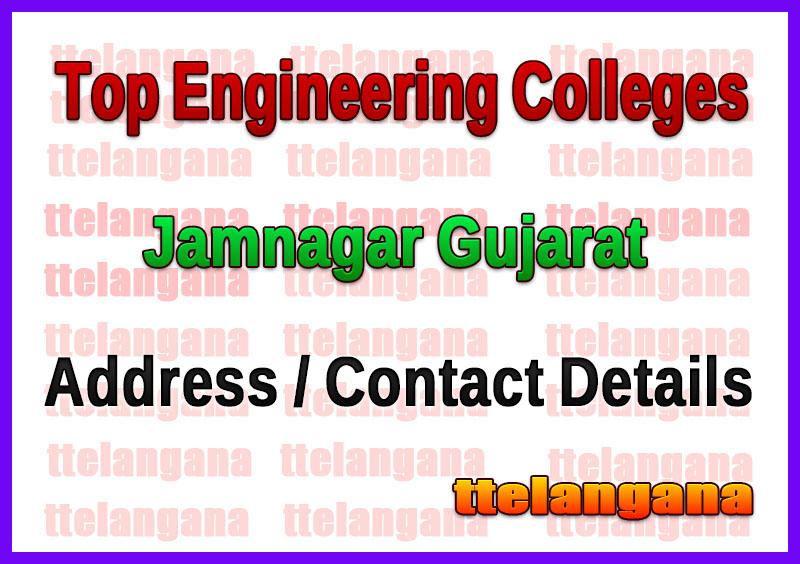 Top Engineering Colleges in Jamnagar Gujarat