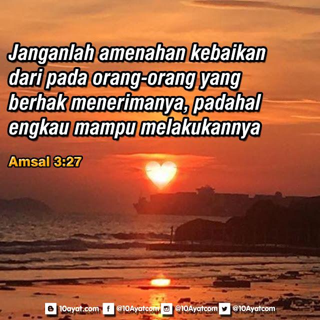 Amsal 3:27