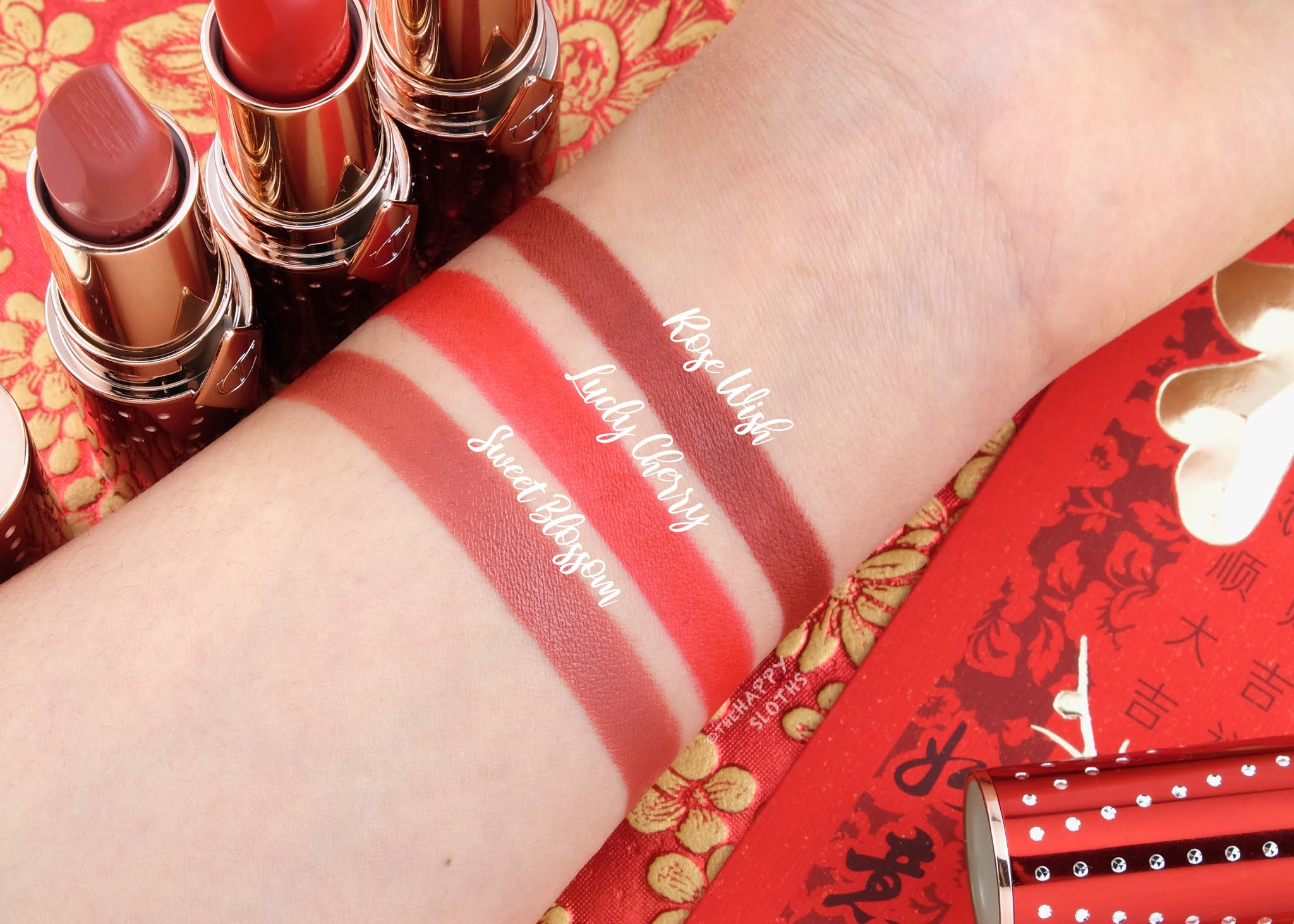 Charlotte Tilbury | Lunar New Year 2021 Lipsticks: Review and Swatches