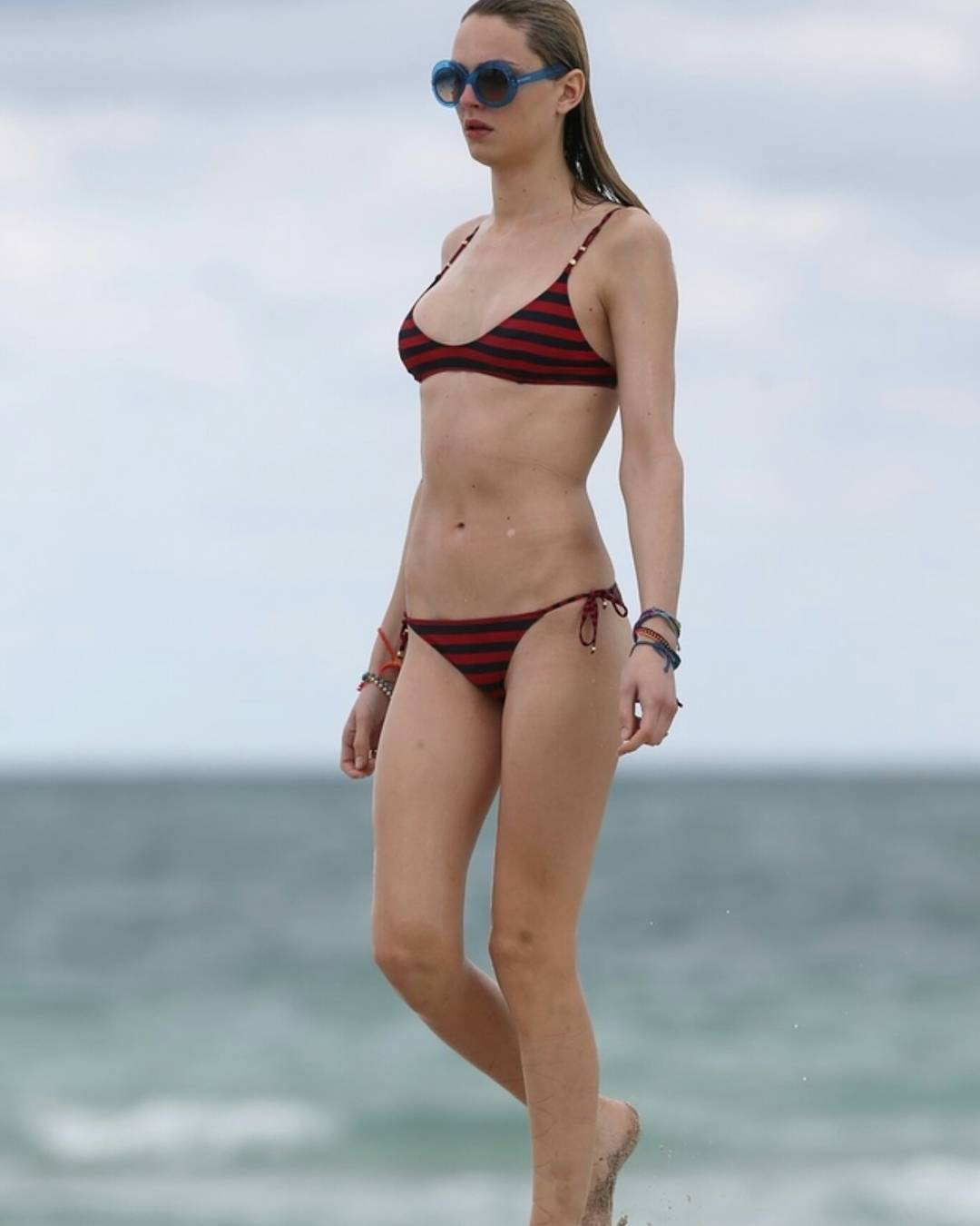 Transgender Bikini Model