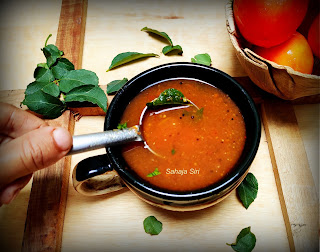 Jeera pepper rasam