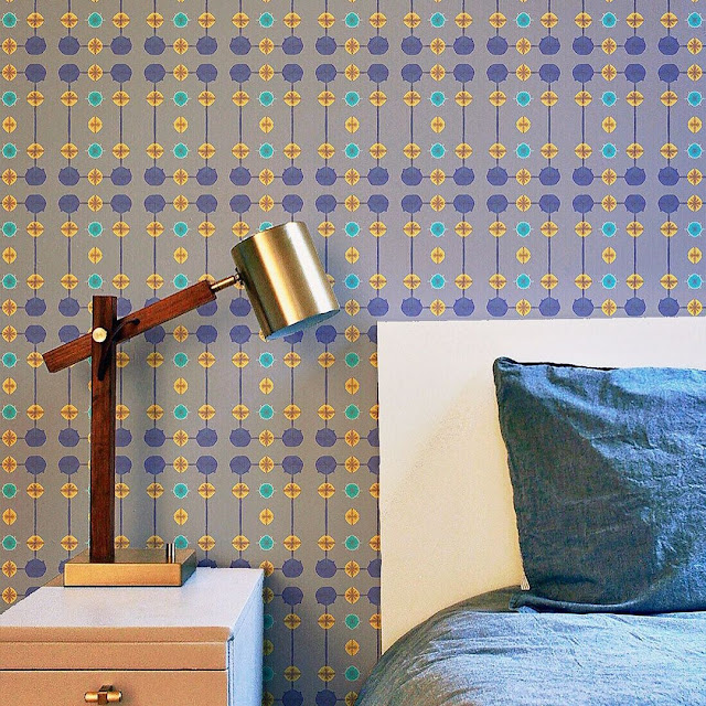 Stiker Wallpaper Dinding Kamar Tidur 3D