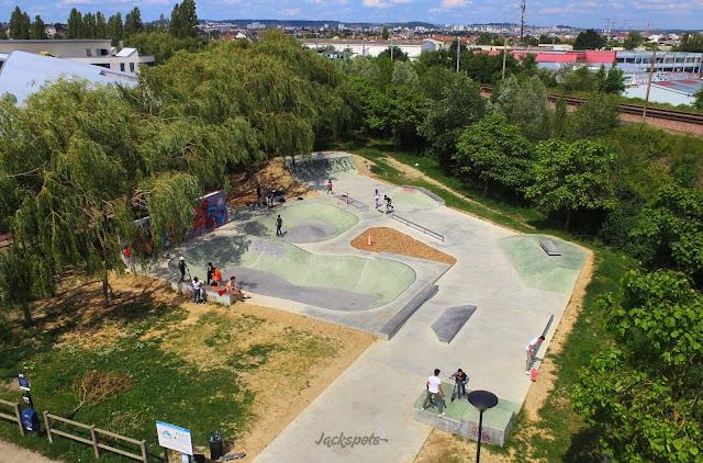 skatepark bowl carrieres sur seine