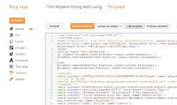 Halaman Edit HTML