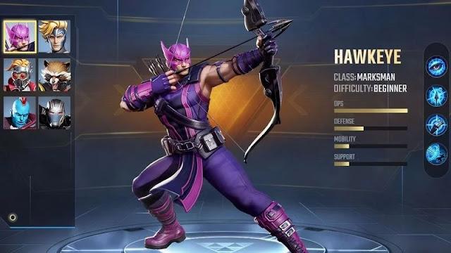Daftar 5 Hero Game MARVEL Super War Terbaik, Disarankan Untuk Pemain Pemula Terbaru 2020