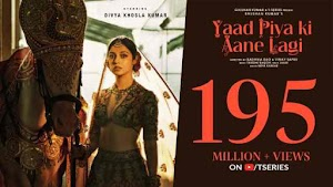 Yaad Piya Ki Aane Lagi hindi | english lyrics