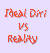 Ideal Diri vs Reality