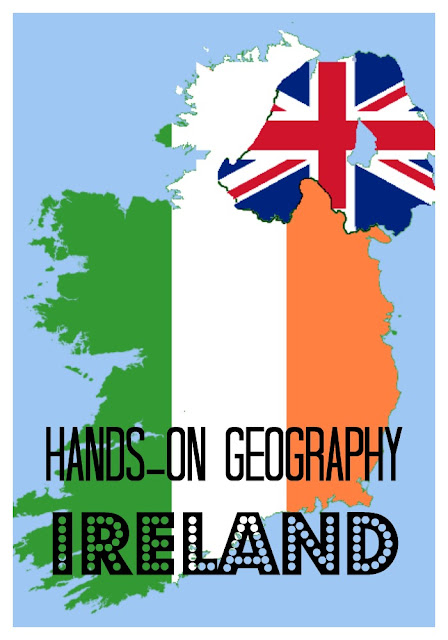 Ireland hands on unit for elementary school