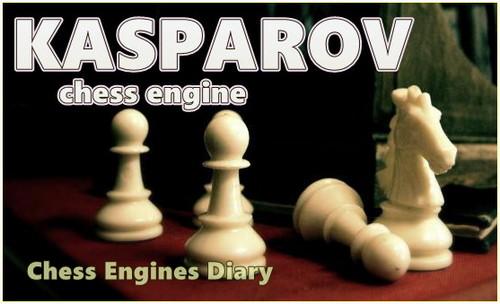 Chess Engines Diary: Chess engine: Kasparov 1 0 0