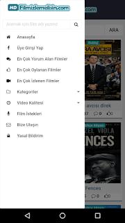 Android HD Film İzleme ve İndirme