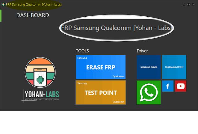 Samsung Qualcomm FRP Tools   One Click Via EDL - 2021