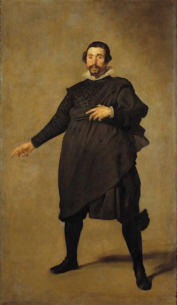 Диего Веласкес - Портрет шута Пабло из Вальядолиды (ок.1635)