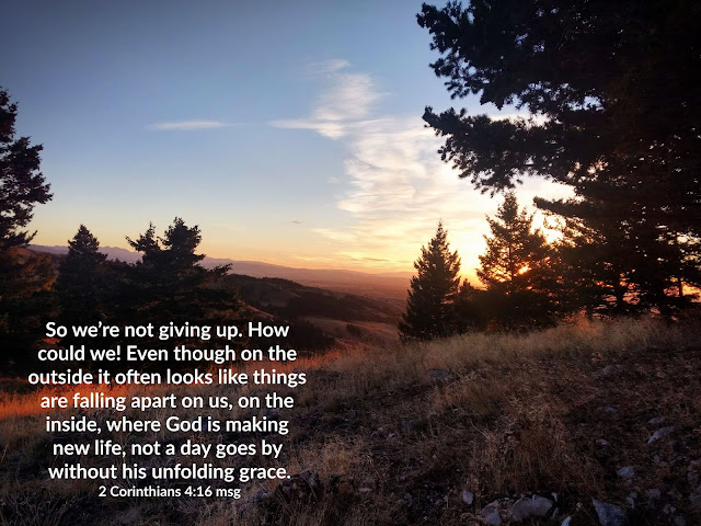 Devotional on Not Giving Up