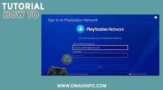cara mereset password akun ps4 Anda