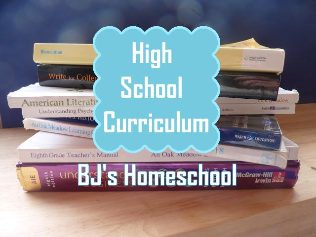 Bjs Homeschool Our Homeschool Curriculum Choices For 9th 10th