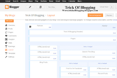 How Easliy/Simple To Administer Page Layout In Blogger Blogspot
