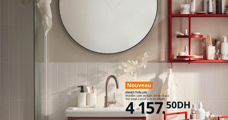 catalogue ikea maroc salle de bain 2021