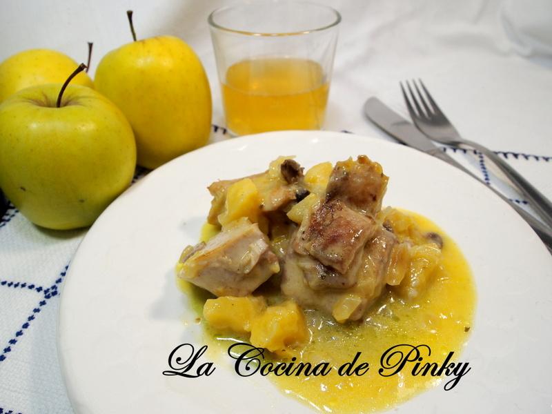 Bonito Con Salsa De Manzana Y Curry