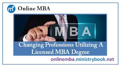 Licensed MBA Degree