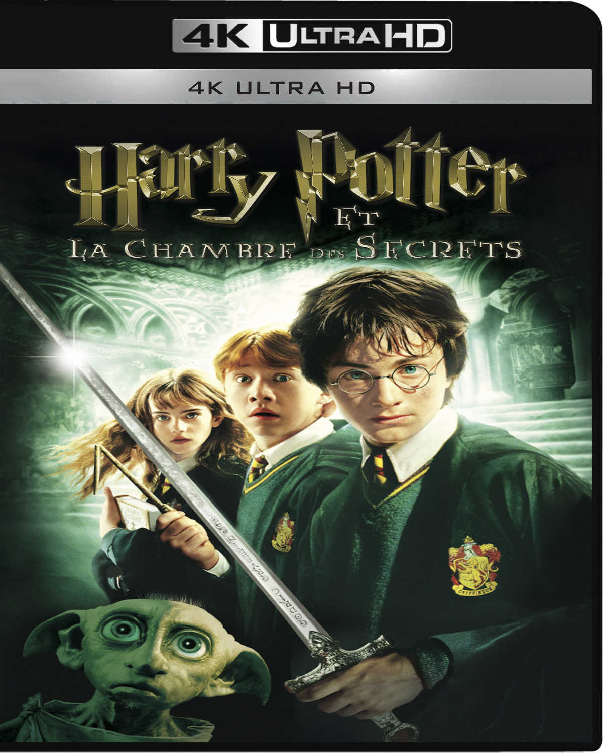 Harry Potter and the Chamber of Secrets [2002] [UHD] [2160p] [Latino – Castellano]