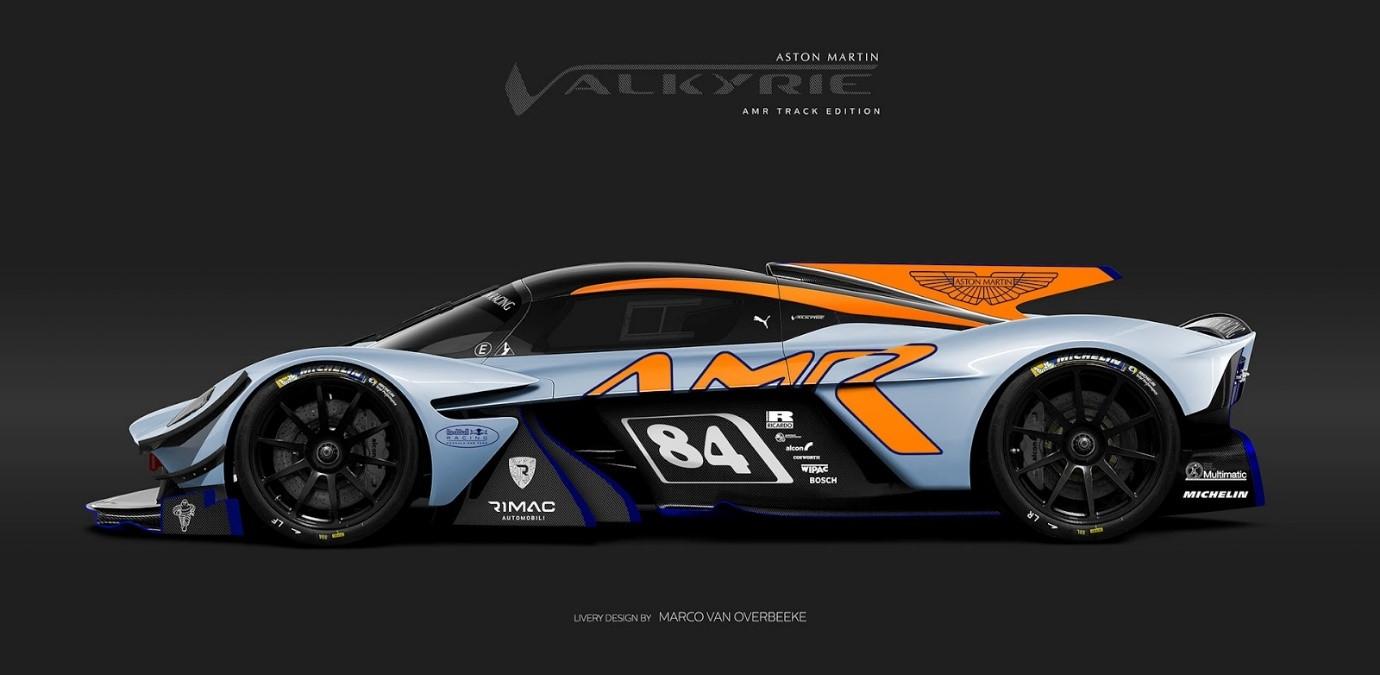 Aston Martin Valkyrie Render Ms Blog