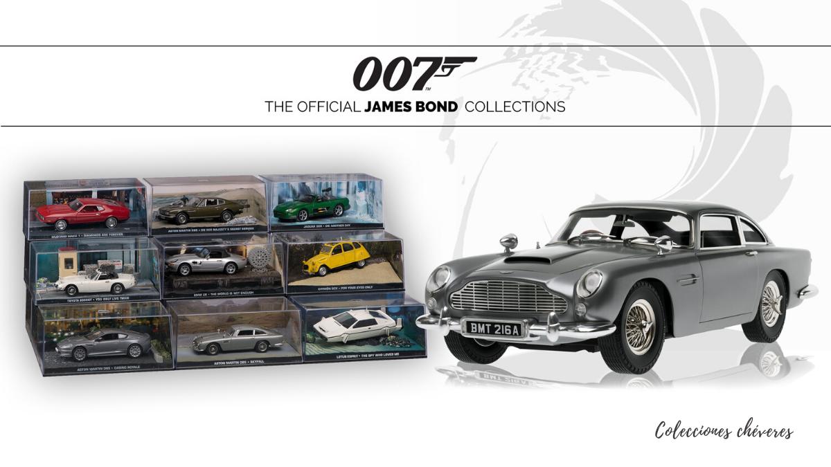 coleccion james bond auto collection 1:43 peru