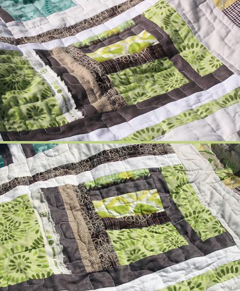 machwerk der fertige quilt. Black Bedroom Furniture Sets. Home Design Ideas