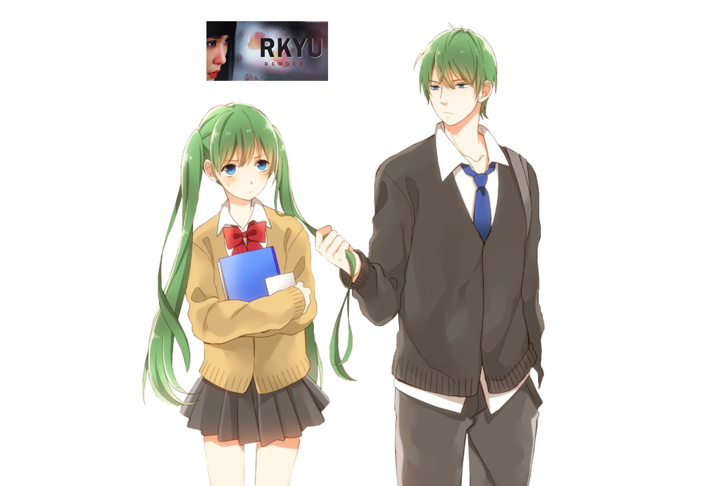 render couple anime by rkyu