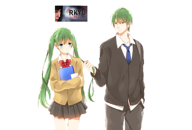 render couple anime by rkyu