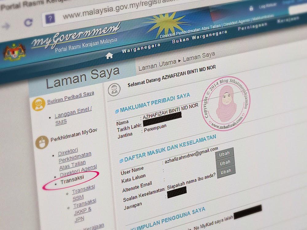 Pendaftaran Ssm Secara Online