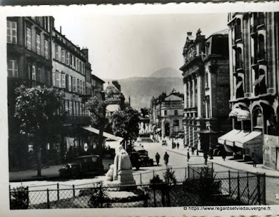 Photo ancienne de Clermont-Ferrand  boulevard Desaix