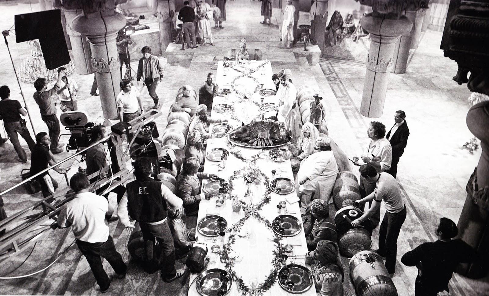 temple of doom behind the scenes