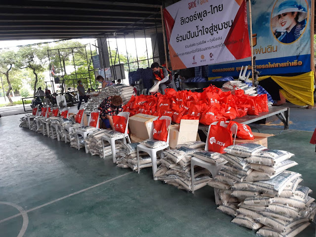 LFC Foundation and Right To Play Launch Bangkok COVID-19 Emergency Appeal