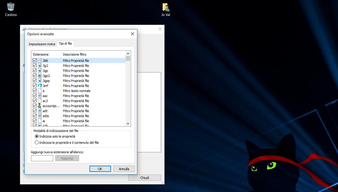 Come aggiungere più percorsi di File per la Ricerca di Cortana in Windows 10 5
