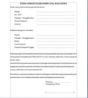 surat persetujuan orang tua