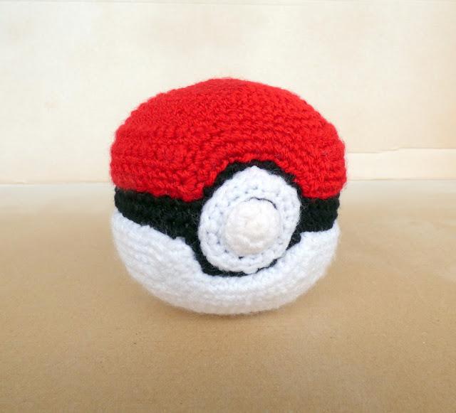 pokemon pokeball crochet pattern