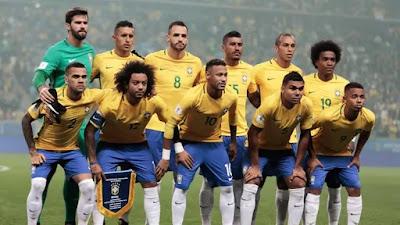 plantilla de la seleccion brasileña