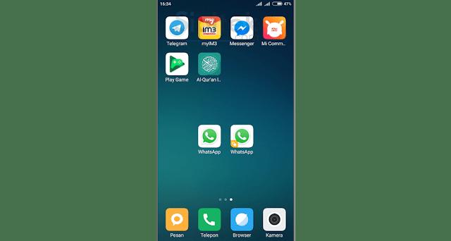 Cara Menggandakan Aplikasi di HP Xiaomi
