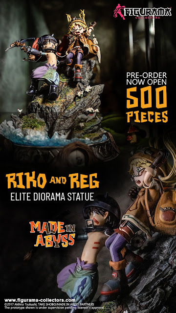 Figurama Collectors Made in Abyss - PROMO CODE: AbyssAS